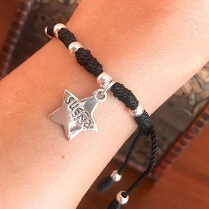 Franciscan knots Bracelet with 925 Silver Star